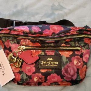 Juicy Couture charm school belt bag NWT